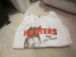 FAMOUS HOOTERS SHIRT WORN BY ME IN THE BBW
