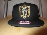 OFFICIAL NFL BLACK&GOLD HAT BRAND NEW FROM LIDS ONLY A PROMO PRODUCT NOT SOLD IN STORES WITH 8X10